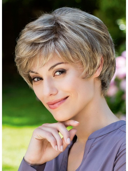 Trendy Capless Layered Wigs Natural Look
