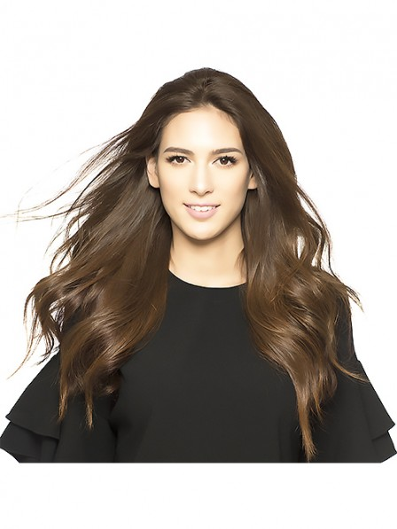 Best Sell 100% Remy Human Hair Fall 3/4 Wigs