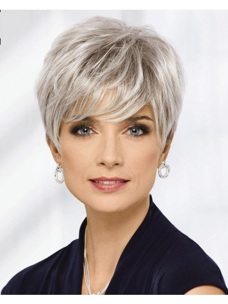 Chic Texture-Rich Pixie Wig With Feathery Razor-Cut Layers