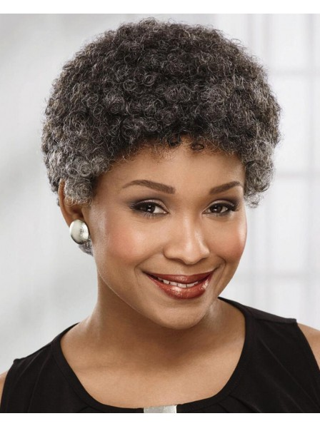 Fabulous Short Afro Wig Full Of Volume And Tight Natural Curls