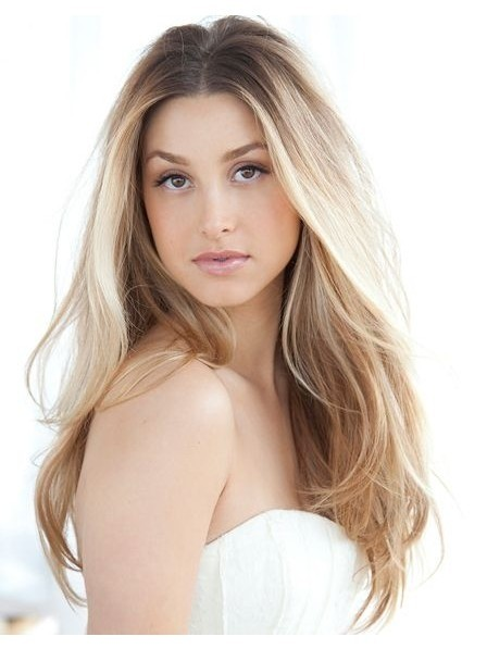 Classic Long Blonde Lace Front Human Hair Wig