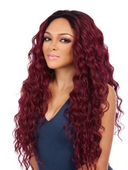 Long Curly Capless Wig on Sale