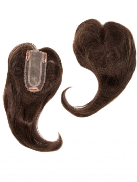 Add On Part Human Hair Toppers for Perfect Fit