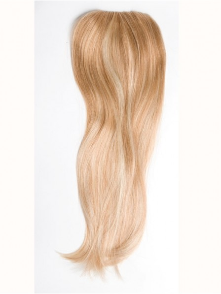 Blonde Mini Fall Human Hair Hairpiece For Ladies