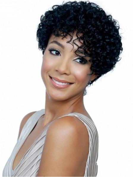 Sleek Afro Women Haircut Capless New Wigs Fast Ship