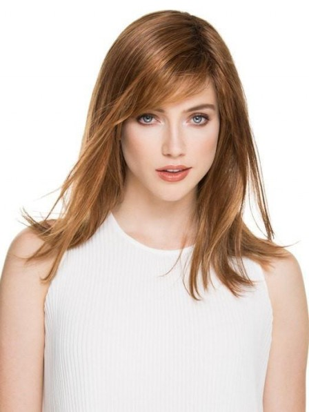 Classic Straight Layered Women Wig with Bangs 2019