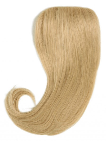 Clip In Blonde Human Hair Top Piece Best Quality
