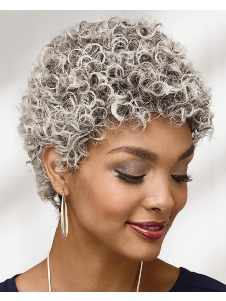 Fashion Cropped Wig With Short Loose Curls New Design