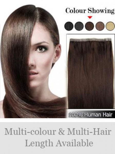 Latest Brown 100% Human Hair Nail/U Tip Hair Extensions