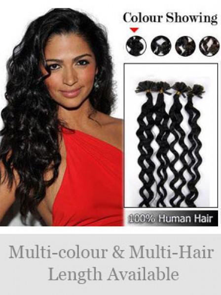 Multi Chioce for Length Human Hair Nail/U Tip Hair Extensions