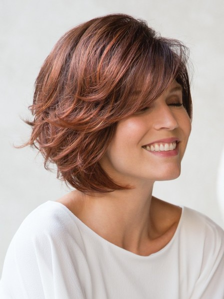 Best Sell Bob Cut Synthetic Capless Wigs Natural Looking