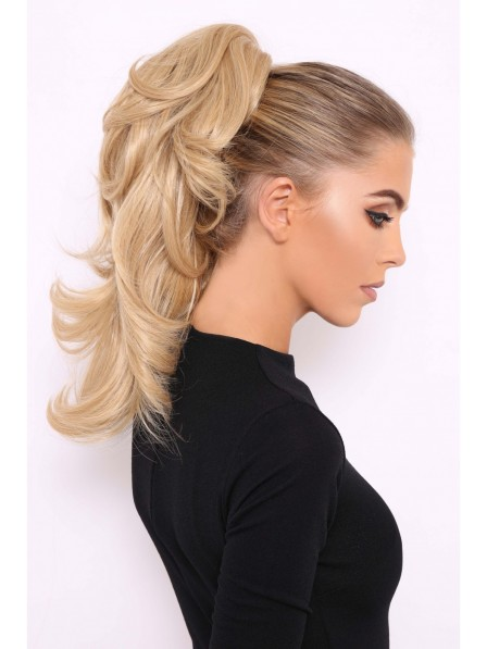 Comfortable Flicky Grip-on 18 inch Ponytail