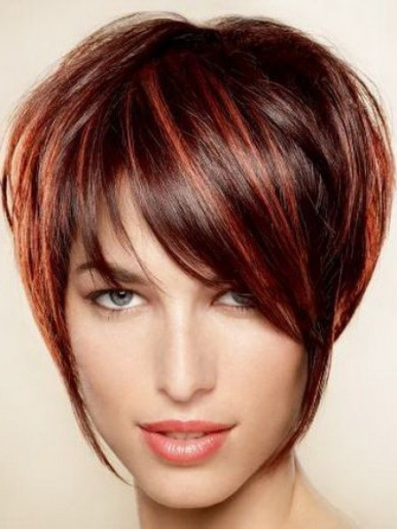 Lace Front Short Straight 100% Human Hair Wigs New Arrival