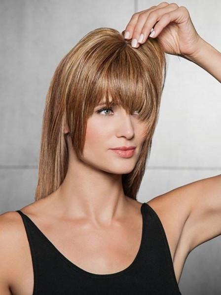 Heat-Friendly Synthetic Hair Modern Fringe Clip-in Bangs