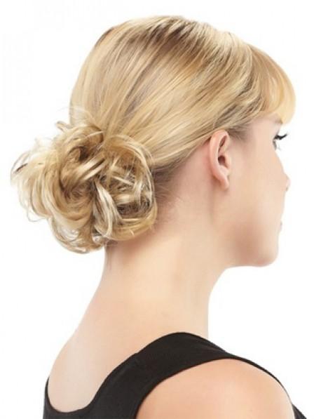 Best Blonde 100% Human Hair Scrunchie Hair Wraps