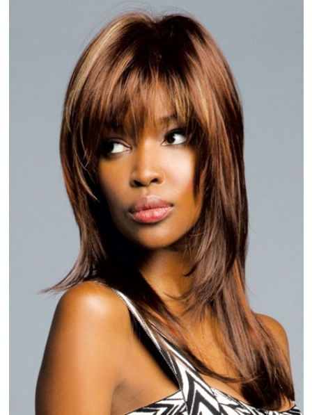High Quality Capless Afro Fashion Synthetic Layered Wig