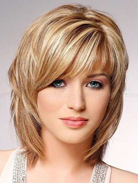 Hot Sale Lace Front Straight Synthetic Blonde Wigs