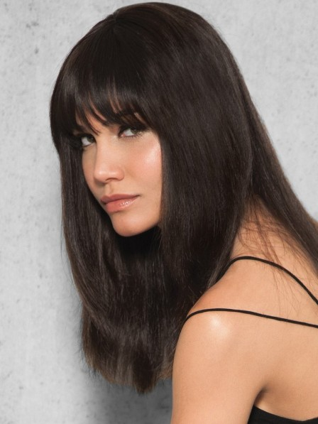 Best 100% Human Hair Clip Fringe Bangs