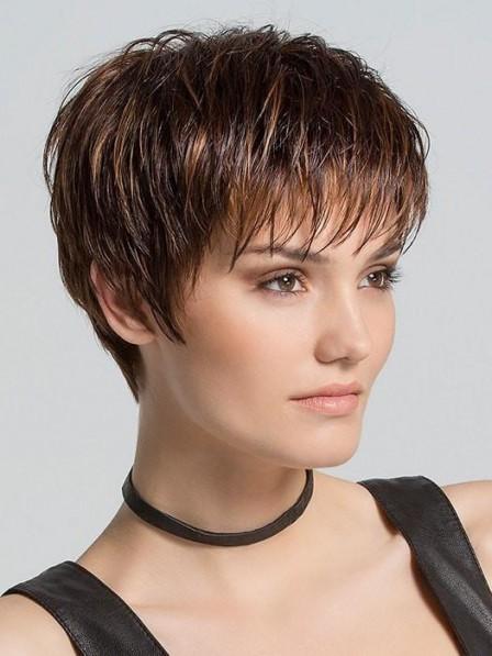Health Design Light Pixie Cut Women Capless Wigs