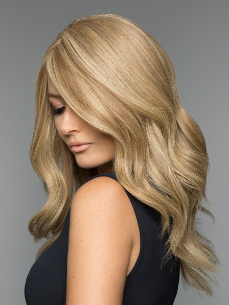Luxurious 100% Human Hair Lace Front Monofilament Women Wig
