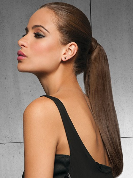 Luxury Comfortable 16 inch 100% Human Hair Ponytail