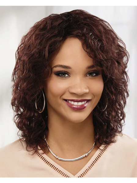 Naturally Beautiful Long African American Wig With Layers