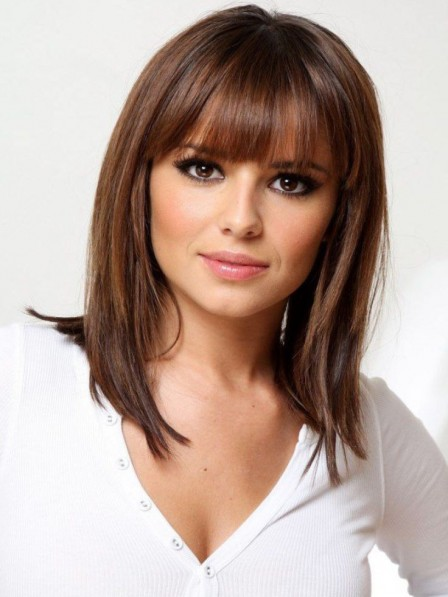 Perfect Shoulder Length Capless Synthetic Hair Wig New Arrival