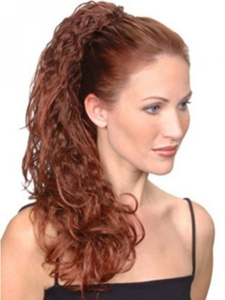 """20"""" Curly Synthetic Hair Claw Clip Ponytails"""