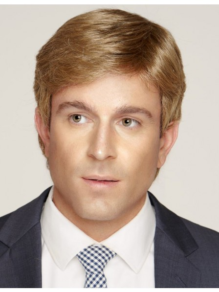Shops Straight Blonde Lace Front Wigs For Men Cheap Price