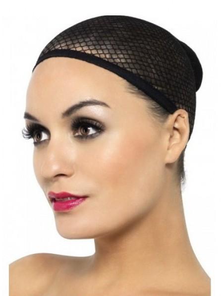 Simple Anti-Slip Black Mesh-Like Wig Cap for Sale