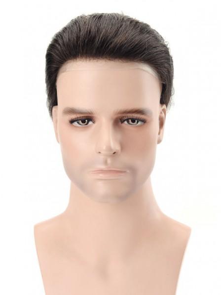Super Thin Skin Medium Density Stock Hair System for Men