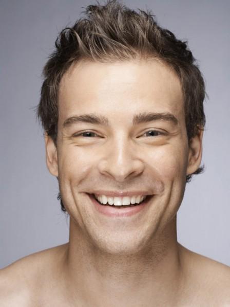 Super Thin Skin V-looped Mens Hair Pieces