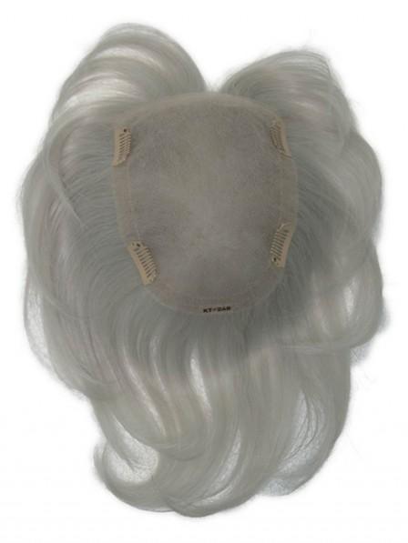 Human Hair Blend Top Piece Hair Piece