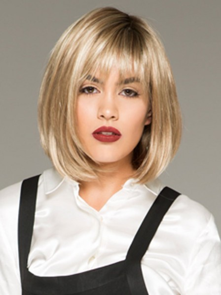 Popular Synthetic Lace Front Monofilament Bob Wig