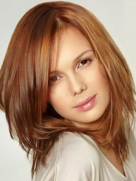 Modern Straight Human Hair Lace Front Women Wig For Sale