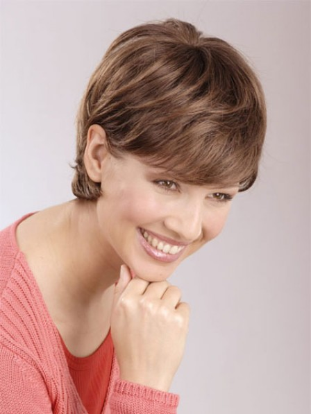 New Design Lace Front Short Boycuts Straight Natural Hair Wigs