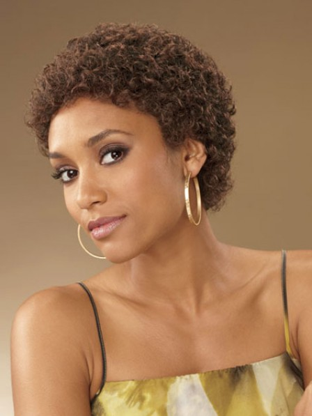 Classic Afro Cropped Curly Synthetic Hair Wigs Store