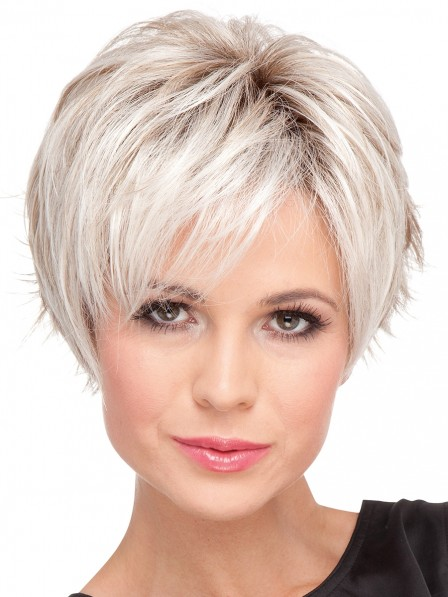 Popular Cheap Ladies Straight Capless Petite Wigs For Sale