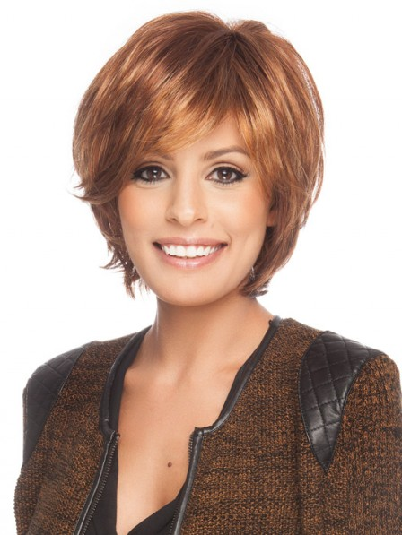 Fast Ship Straight Synthetic Wig With Bangs