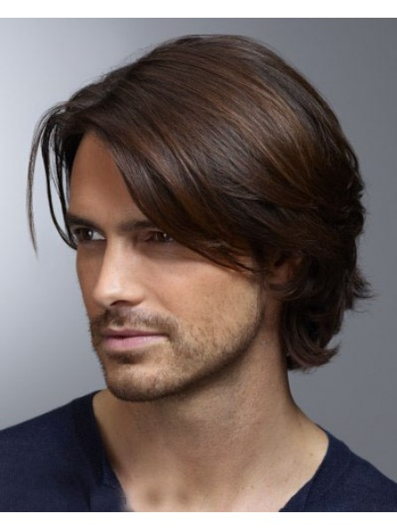 Mens Straight Lace Front Hair Petite Wigs for Sale