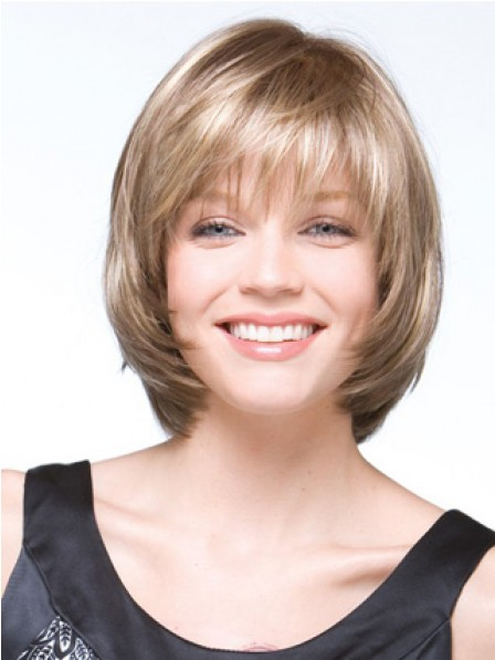 Fashion Straight Chin Length Synthetic Hair Wigs On Sale