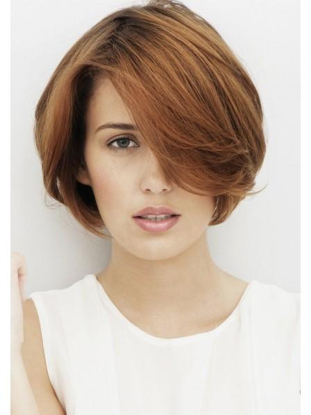 High Quality Chin Length Bob Human Hair Natural Wigs Lace Front