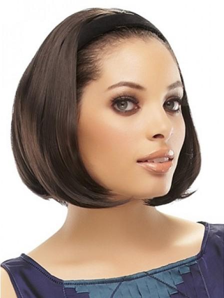 Mid-Length 3/4 Wig With Headband